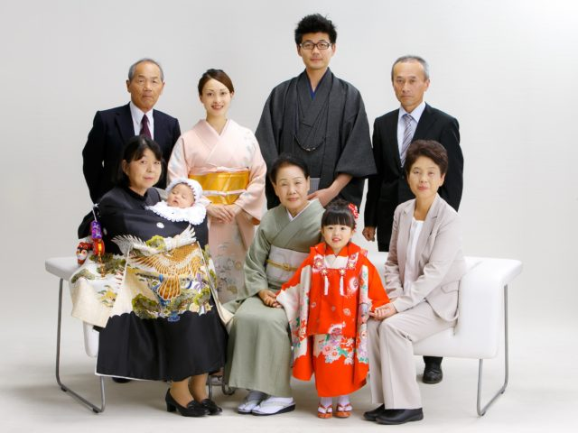 家族アルバム「お宮参り・七五三」