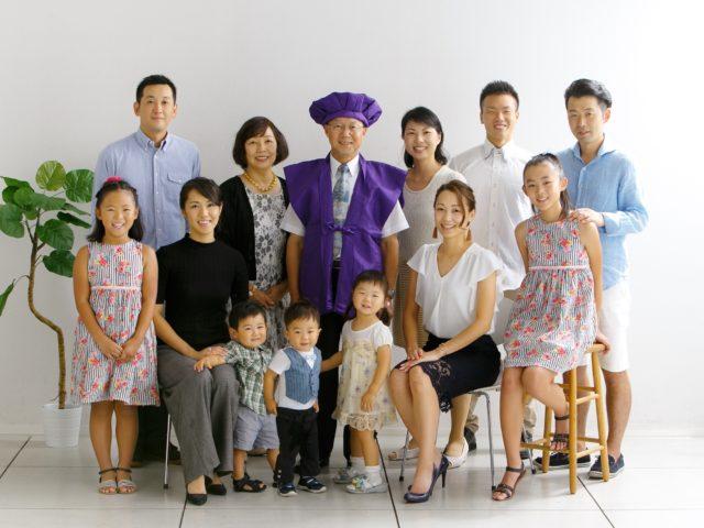 家族アルバム「古希のお祝い」