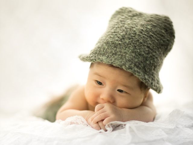 お宮参り「可愛い赤ちゃん」
